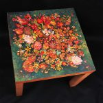 Hand PAINT table zoomed