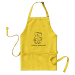 LOVING ELEPHANTS APRON_ PRINT ON DEMAND GIFT FOR MOM, GRANDMOTHER, FIANCE or wife