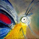 butterfly,pastel macro 300
